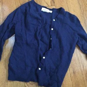 Vineyard Vines navy blue cardigan